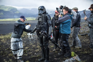 Rogue One: A Star Wars Story..Pao BTS image..Ph: Jonathan Olley/Lucasfilm..©2016 Lucasfilm Ltd. All Rights Reserved.