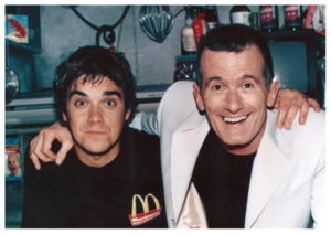 Ray Cokes Robbie Williams