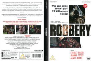 Robbery Stanley Baker DVD