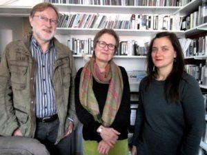 Saarländisches Filmbüro Großregion Jörg Witte, Sigrid Jost und Anna Kautenburger (v.l.). Foto: Keßler