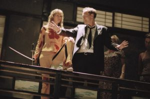 "Quentin Tarantino Uma Thurman ""Kill Bill"" ""Pulp Fiction"" Harvey Weinstein Reservoir Dogs"